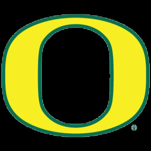 Logo University Of Oregon Ducks Yellow O Green Outline Fanapeel